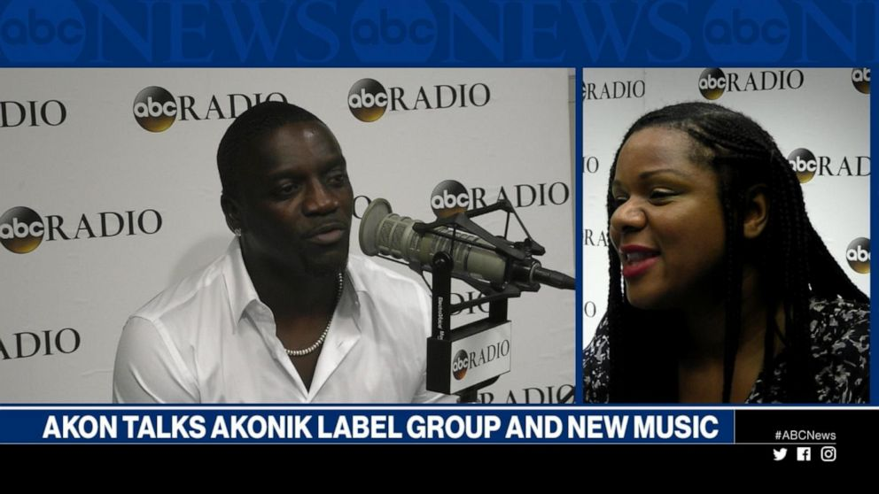 Akon discusses his Akonick label group and new music