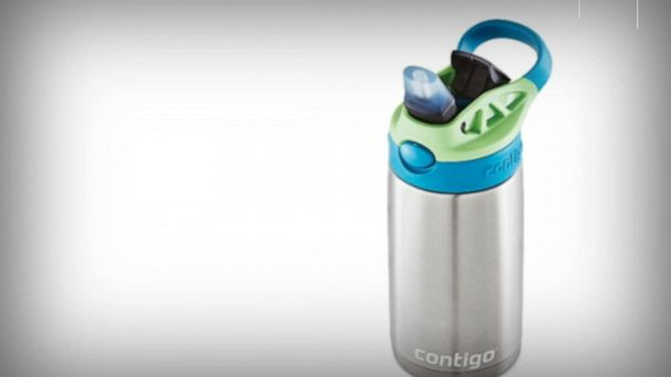 Contigo issues voluntary recall of 5.7 million kids cleanable water bottles