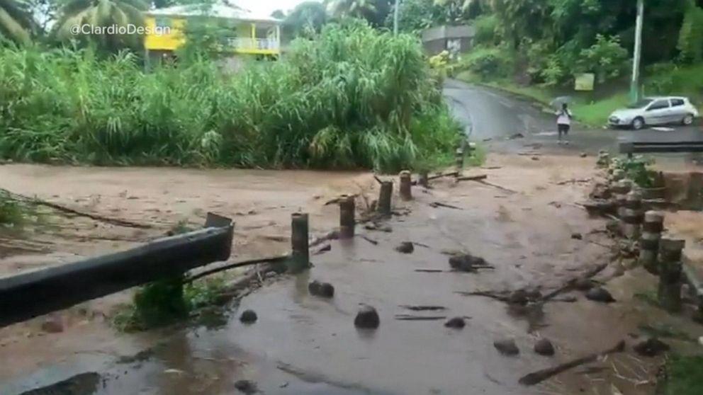 Dorian Strengthens To Hurricane As It Slams Caribbean May