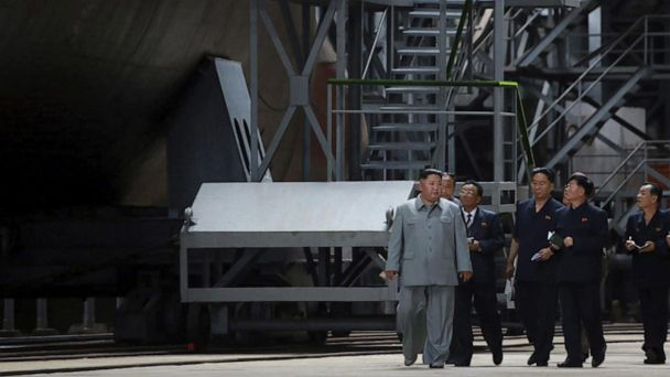 North Korea appears to be building new ballistic missile submarine