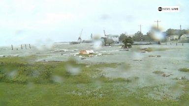Dorian lashes South Carolina with winds, heavy rain Video