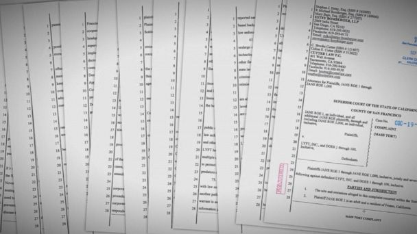 At least 14 accusers file lawsuit against Lyft
