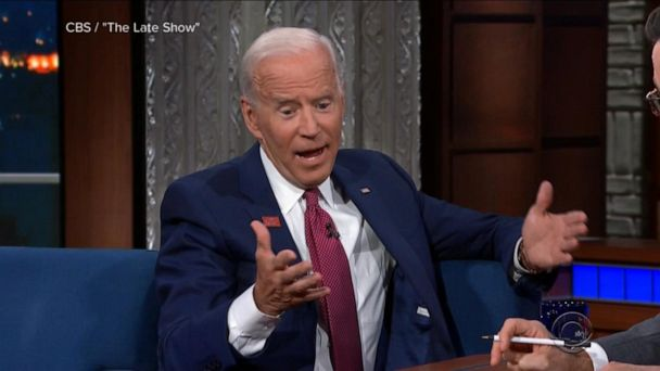 Joe Biden tries to laugh off scrutiny over string of misstatements