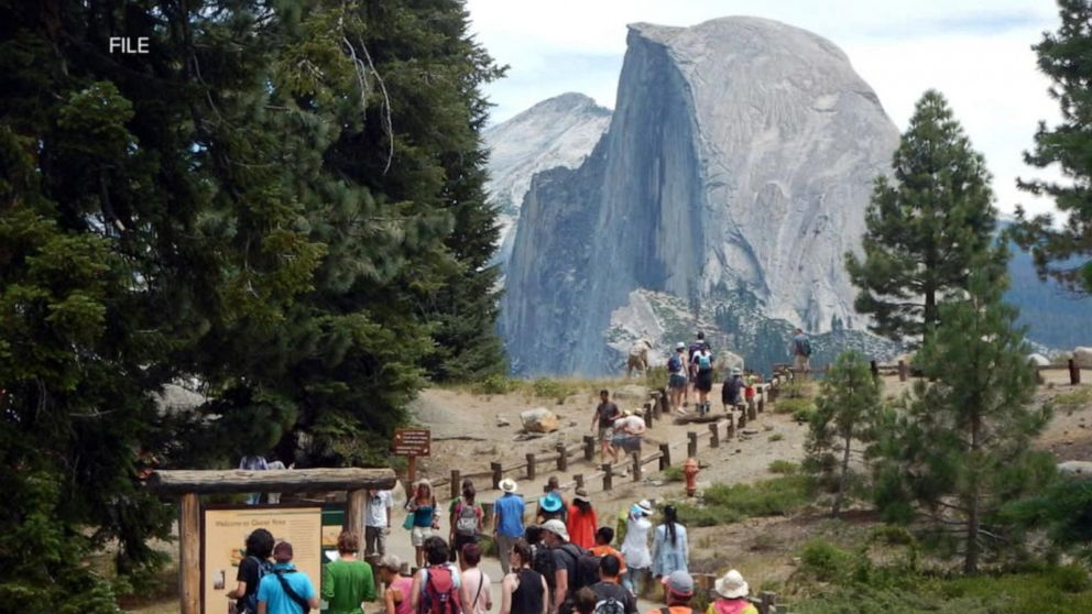 Woman falls 500 feet to her death hiking at Yosemite National Park