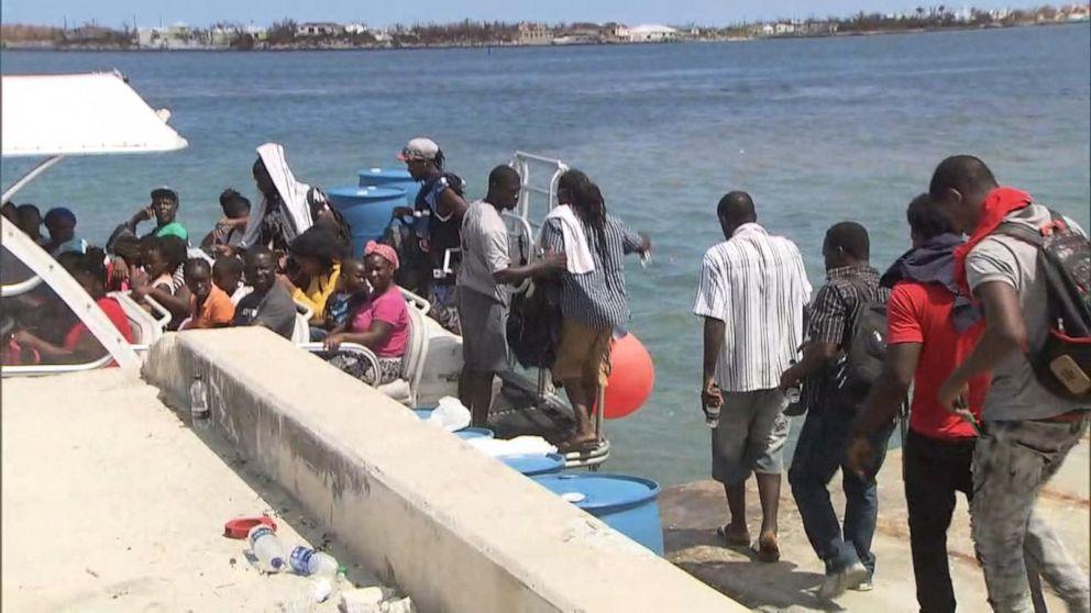 UHR: Tausende auf der Flucht vor den Bahamas aufgrund der Auswirkungen von Hurrikan Dorian