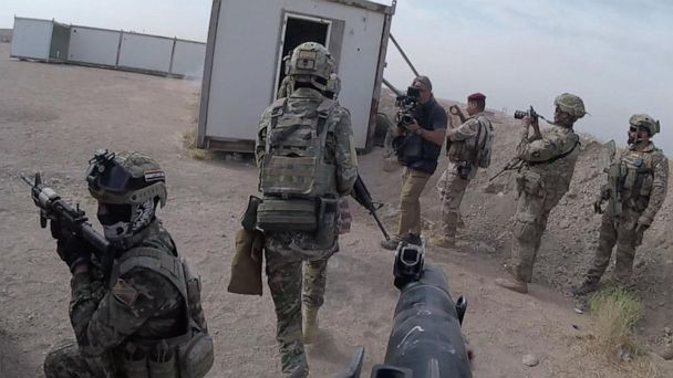 Exclusive: David Muir goes inside Iraq as US hunts ISIS fighters