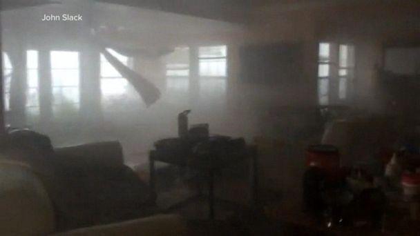 New video shows family's harrowing brush with Hurricane Dorian