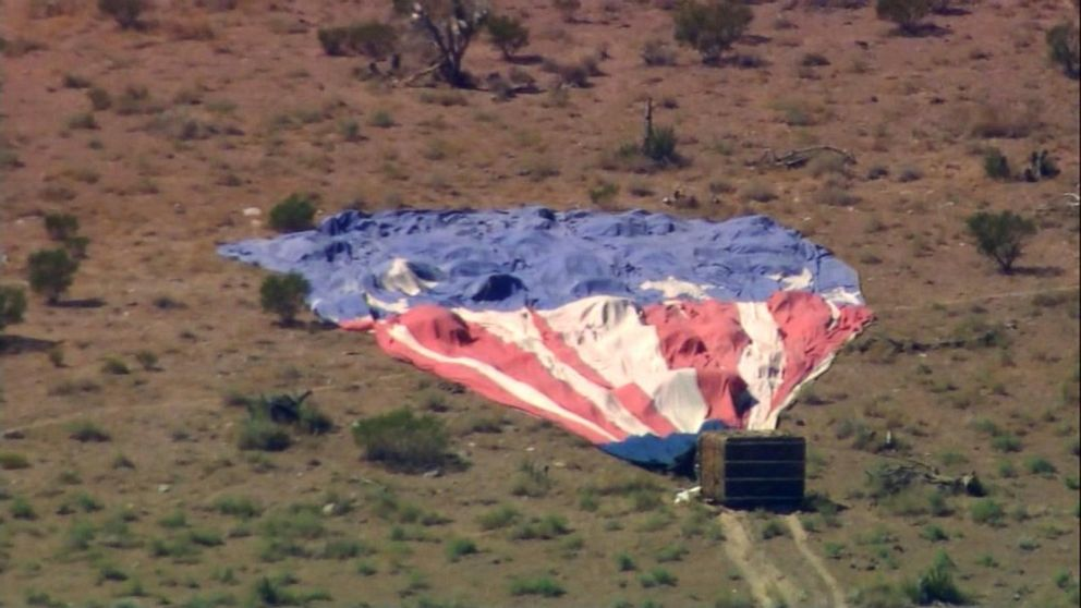 Couple recounts drama of crash-landing hot-air balloon after losing pilot