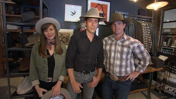 A tip of the hat to the people who make, shape the classic Stetson