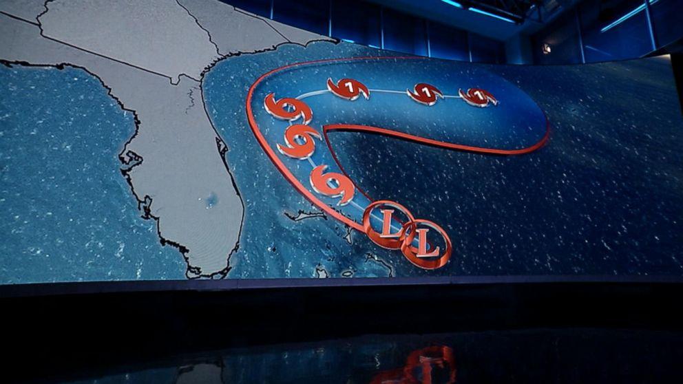 New tropical storm bearing down on hurricane-ravaged Bahamas
