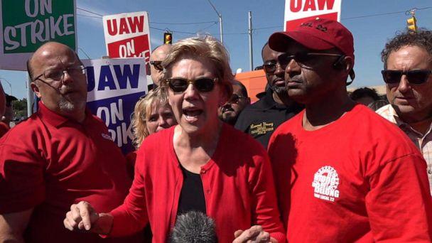 Elizabeth Warren climbs in new Iowa poll