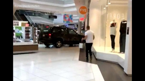 Man who drove his SUV through a mall in Chicago was charged with terrorism