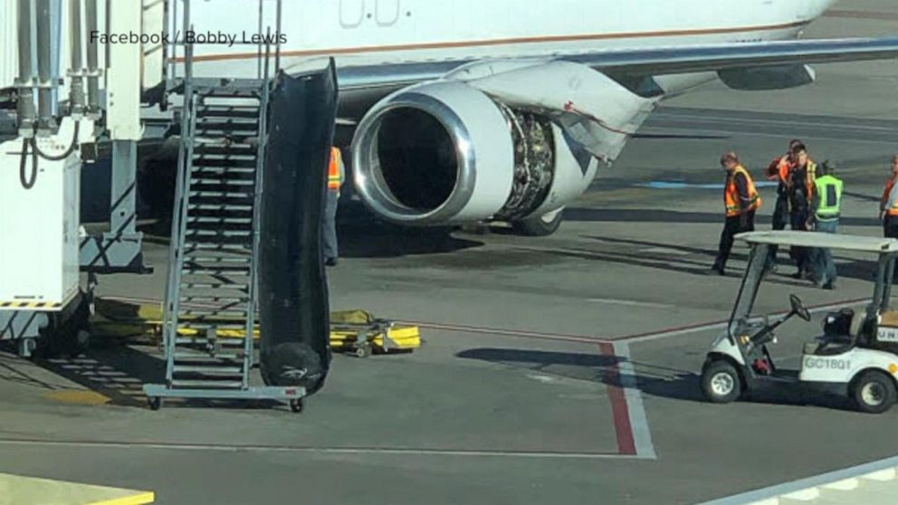Image result for US plane engine panel comes loose