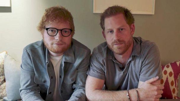 Prince Harry, Ed Sheeran team up for World Mental Health Day