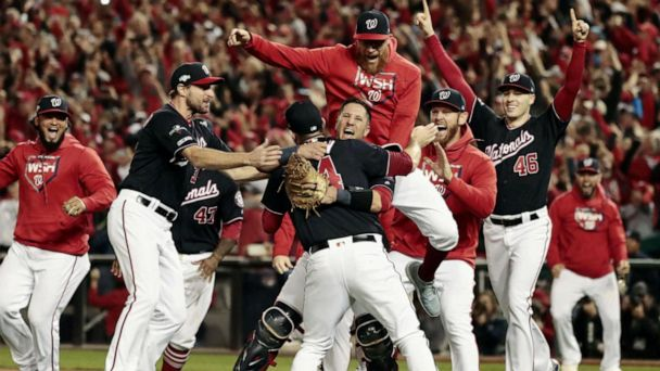 Nationals headed to World Series for first time in franchise history