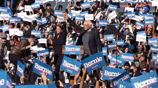 Bernie Sanders back on campaign trail after heart attack
