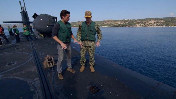 ABC News' David Muir gets exclusive access on USS Florida