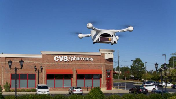 UPS launches drone delivery in North Carolina