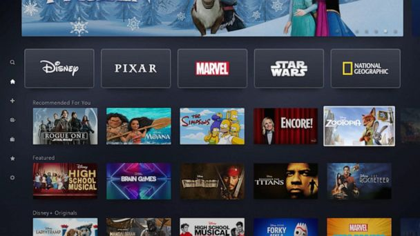 Disney launched its new service, 'Disney+'