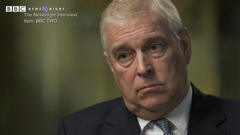 Prince Andrew Says In Bbc Interview Nothing Happened Between Him