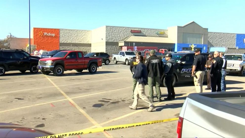 2 people and suspect killed in Walmart parking lot shooting