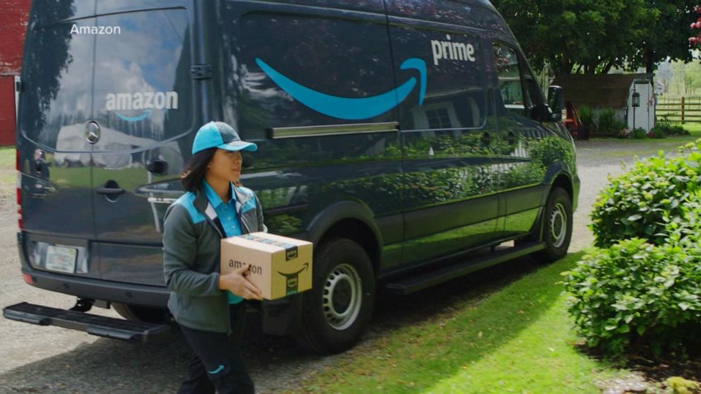 Sheriff Amazon Driver Stole Gifts He Should Have Delivered Abc News