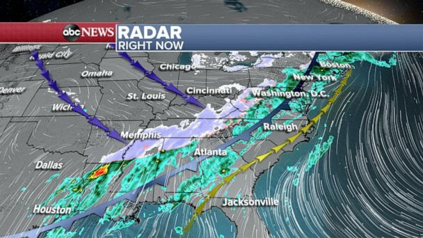 Northeast bracing for storm expected to bring snow and bitter cold