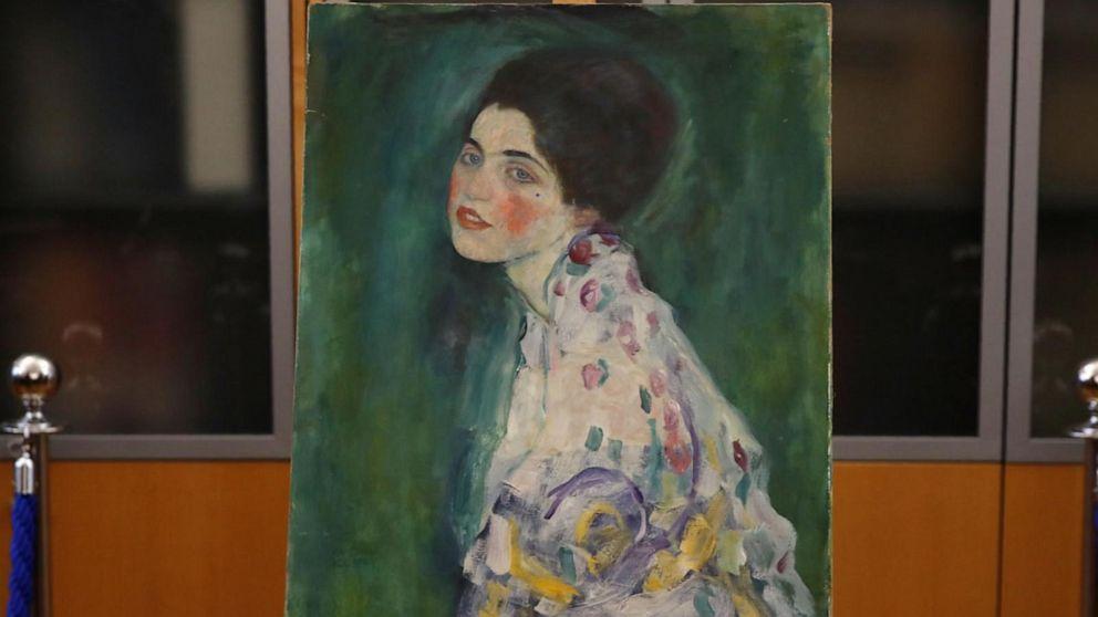 Klimpt painting found
