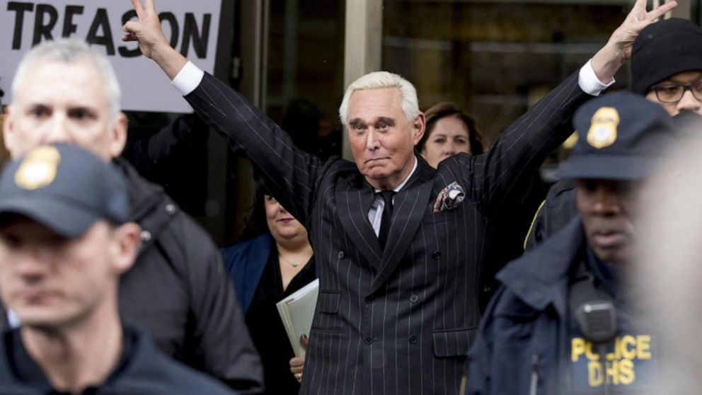 Trump criticized for commuting Roger Stone's sentence