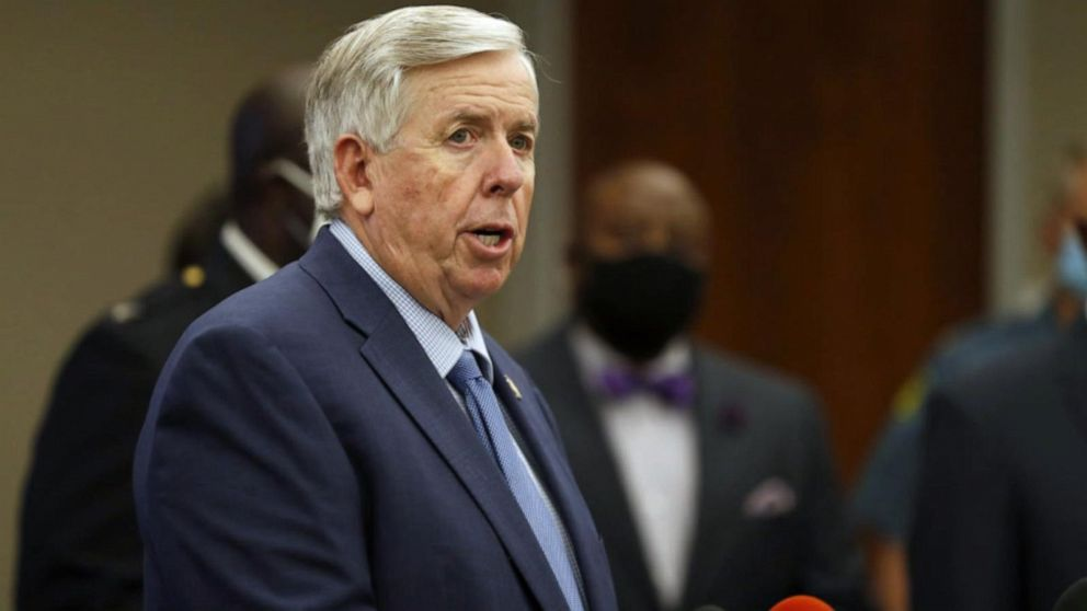 Missouri Governor tests positive for COVID-19