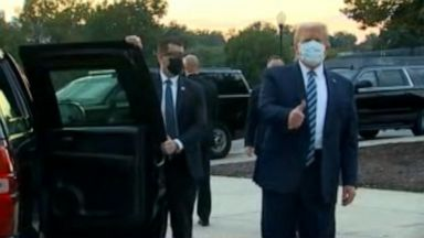 VIDEO: President Trump leaves hospital