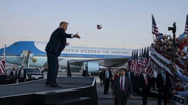 VIDEO: Biden, Trump on the campaign trail in Florida