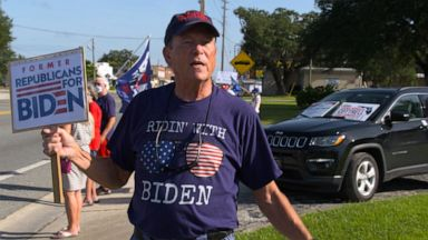 VIDEO: Republicans, Democrats campaign in central Florida retirement community The Villages