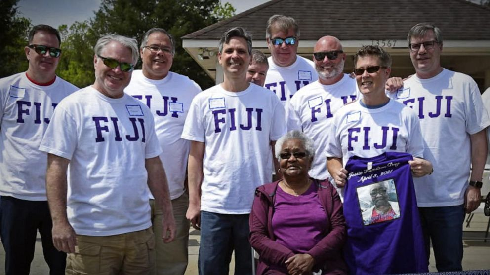 Fraternity brothers come together for special birthday surprise