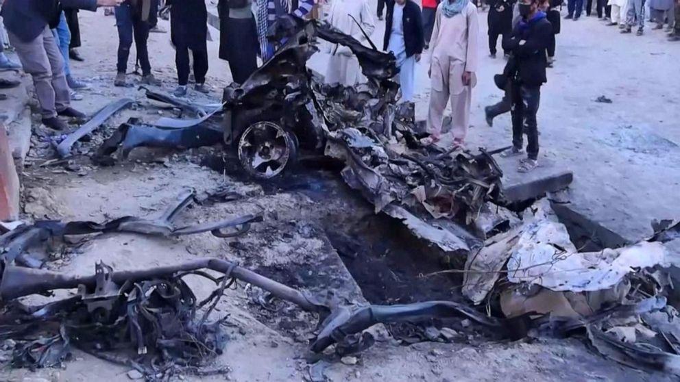 Bombing in Afghanistan kills 30