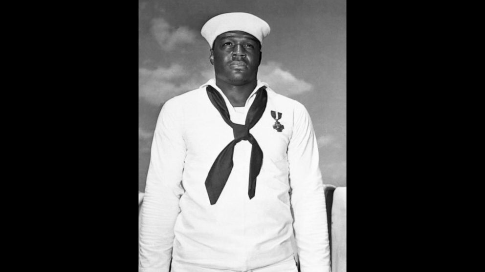 1st aircraft carrier named in honor of Black Navy veteran