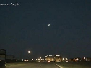 WATCH:  Reports: Bright meteor flies over Texas