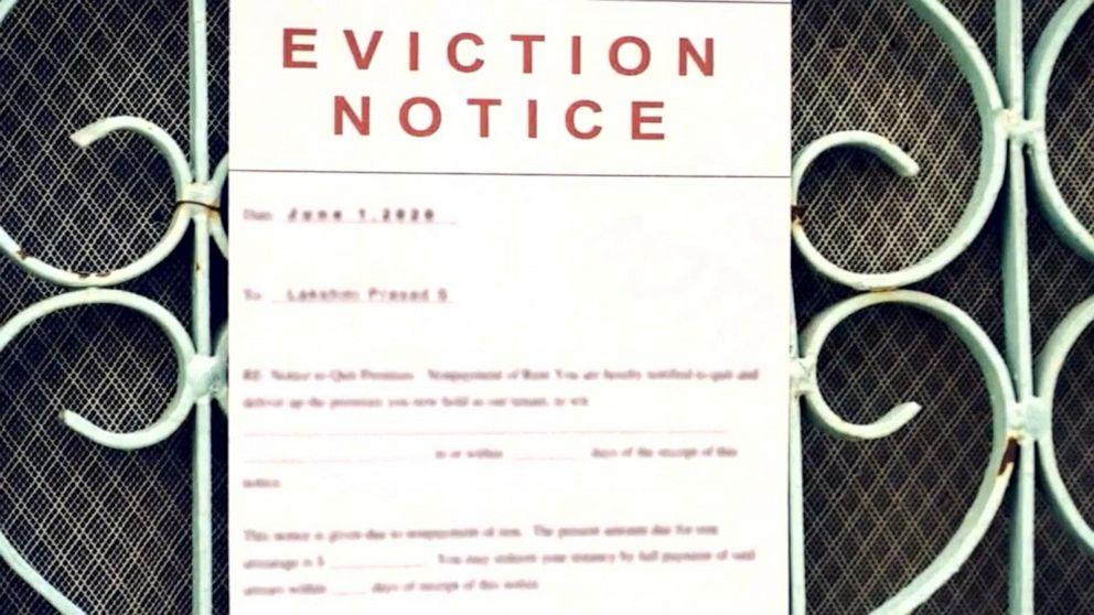 Millions of renters in danger of losing their homes