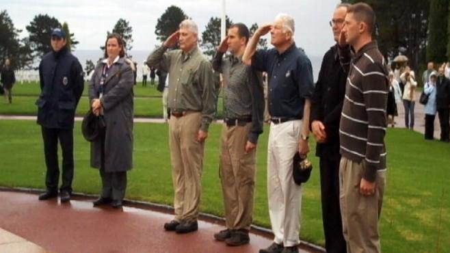 Video: Staff Sgt Salavatore Giunta visits Normandy.