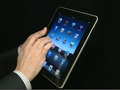 VIDEO: Apple CEO Steve Jobs unveils the iPad.