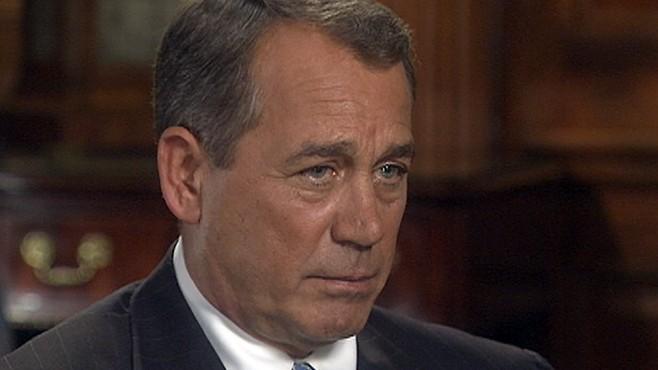 Interview John Boehner: Part 4