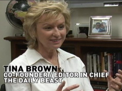 VIDEO: Diane Sawyer talks with Tina Brown about first annual womens summit.
