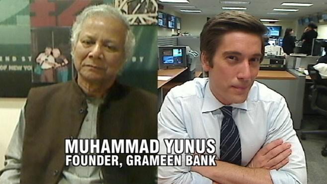 VIDEO: ABCs David Muir talks with Grameen Bank founder Muhammad Yunus.