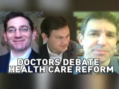 VIDEO: Dan Harris Talks With Two Doctors About Health Care Reform
