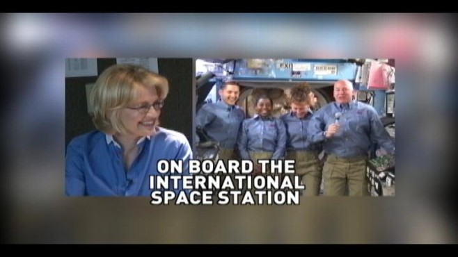 VIDEO: ABCs Diane Sawyer speaks with four astronauts about life in orbit