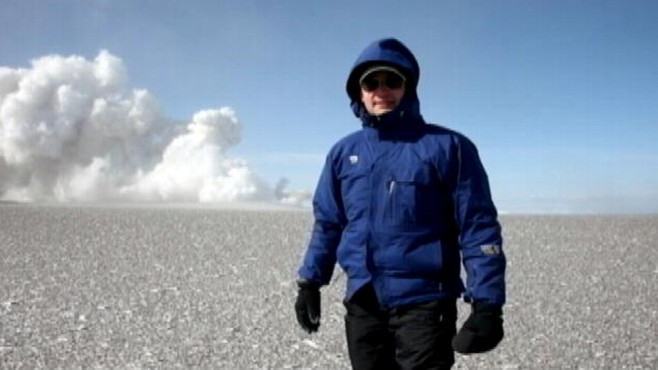 VIDEO: Diane Sawyer and Neal Karlinsky discuss his journey to the top of the volcano