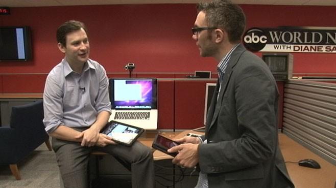 VIDEO: Dan Harris and New York Times reporter Nick Bilton look at ABCs new iPad app.