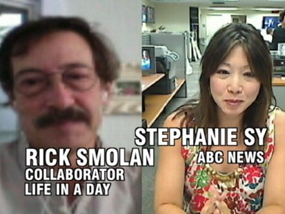 """VIDEO: """"Life in a Day"""" uses YouTube videos to document this Saturday around the world."""