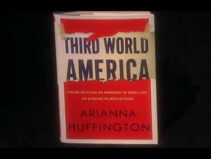 VIDEO: Arianna Huffington discusses her new book with Diane Sawyer
