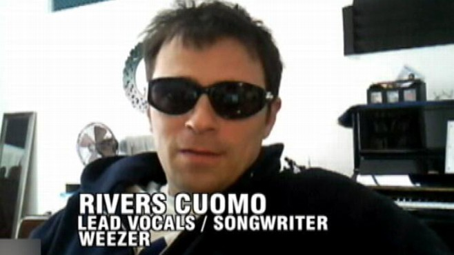 "VIDEO: Rivers Cuomo answers questions about the origin of the album title ""Hurley."""
